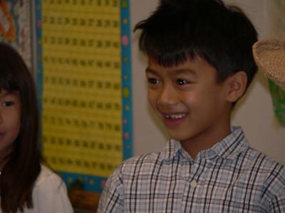 Jazmin's 1st Grade Thanksgiving Recital