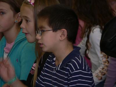 Jazmin's First Grade Award Ceremony