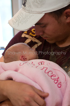 Jessica & Andy's New Arrival:  A couple snapshots