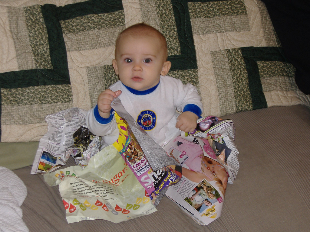 021 Relaxing with a Magazine
