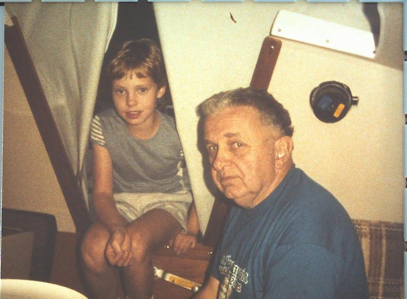 w/Grandpa on Seaya