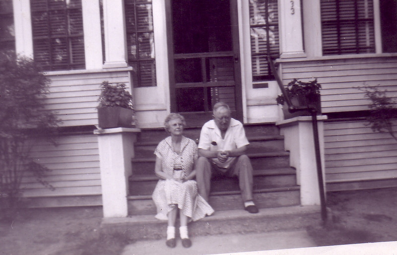 Great Grandparents Nicholson--133 Wellington St.  Springfield, MA