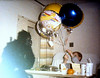 Hospital In Chicago w/Diabetes---Aunt Beth sent gorilla and balloons