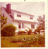 The house on Riverview Terrace where Mom lived from 1957 until after college 1971  Built by Grandpa Johnston 1956-57
