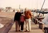 w/Grandma and Grandpa Johnston in Annapolis