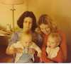 Aunt Laurie and John J, Mom and JP 1976