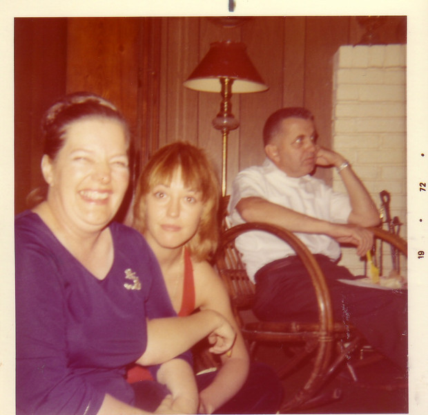 Mary and Marianne w/Doug Johnston in back