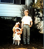Easter in Chicago w/Leah and Willa  1986?