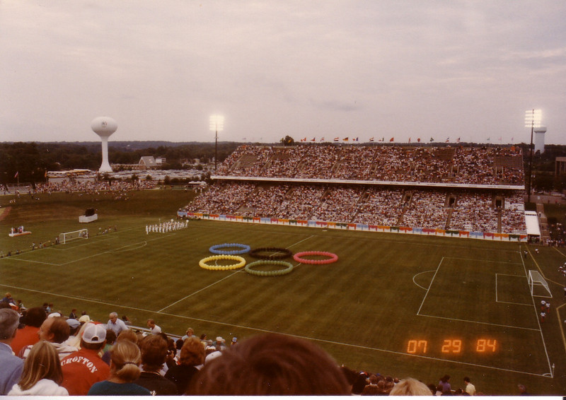 Olympic Soccer Games at Naval Academy 7/84