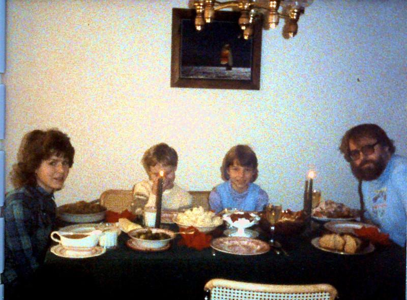 Thanksgiving in Chicago--1985