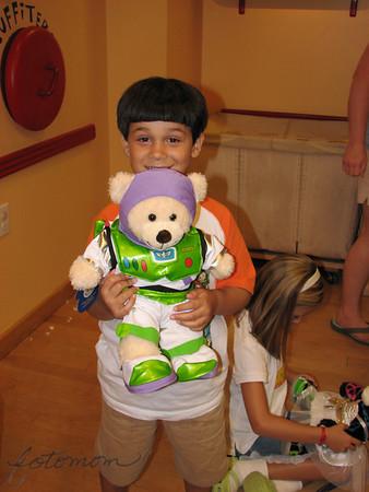 Johnny's 6th Birthday Party Build-A-Bear 073110