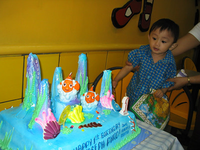 First Birthday at Jollibee