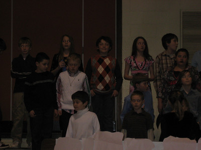 Josh - 4th grade Choir 2009