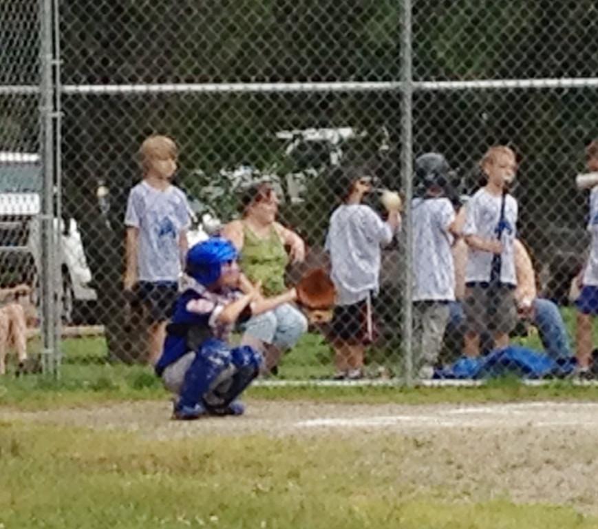 Josh catching