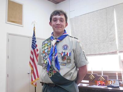 Josh Eagle Court of Honor 2017