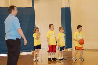Josh YMCA basketball 2007