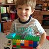 Lego beer truck.  Yep, he asked to build a beer truck!