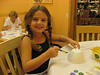 Beginning of Daddy day - 1st stop: Color Me Mine - pottery painting