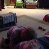 Wrestling daddy!  Fun stuff!!!