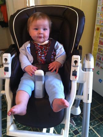 June 2014. Rowan 4.9 years & Caroline 5 months