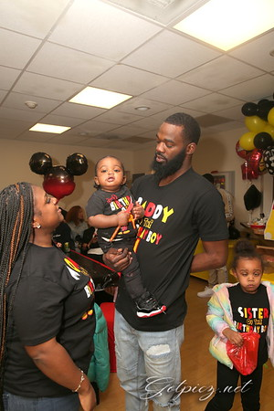 KYSEAN 1ST MIKEY MOUSE BIRTHDAY
