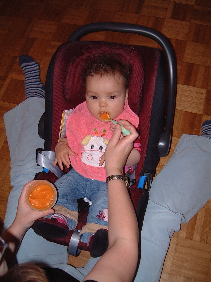 043 Eating Sweet Potato