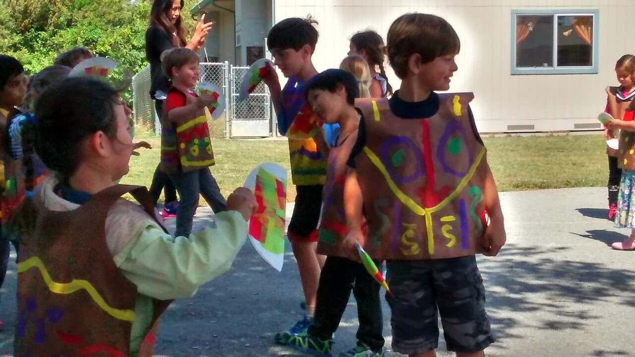 Kaitlin's cinco de mayo celebration at kindergarten