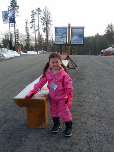 The early bird gets the worm!  Sierra at Tahoe 3/2013 Burton star wars snowboard school.