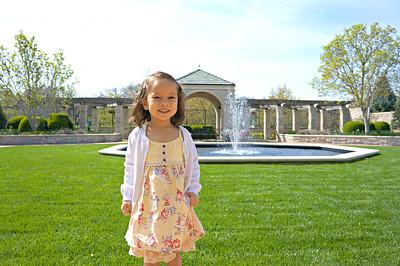 Kauffman Memorial Garden - Spring 2015