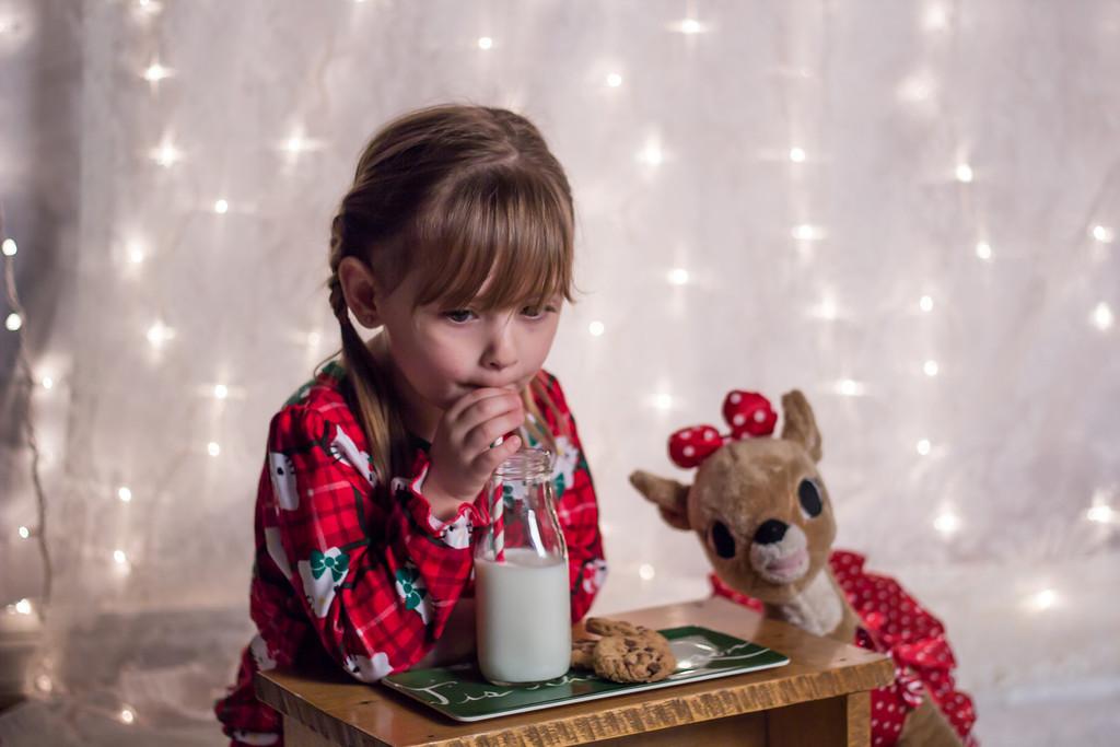 Kaydence Cookies and milk