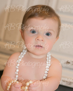 Kenzie 6 and 9 months