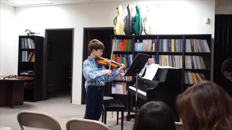 Kevin Violin without piano 2013