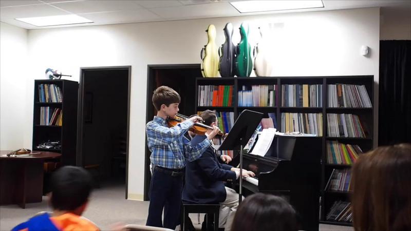 Kevin 1st Violin Concert 2013