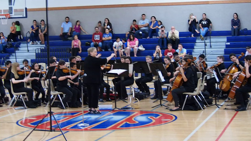 FORD MS Chamber and Sinfonia Orchestra's performing We Are The World