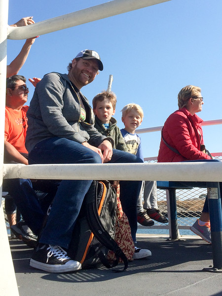 On the Ferry to the Ball Game