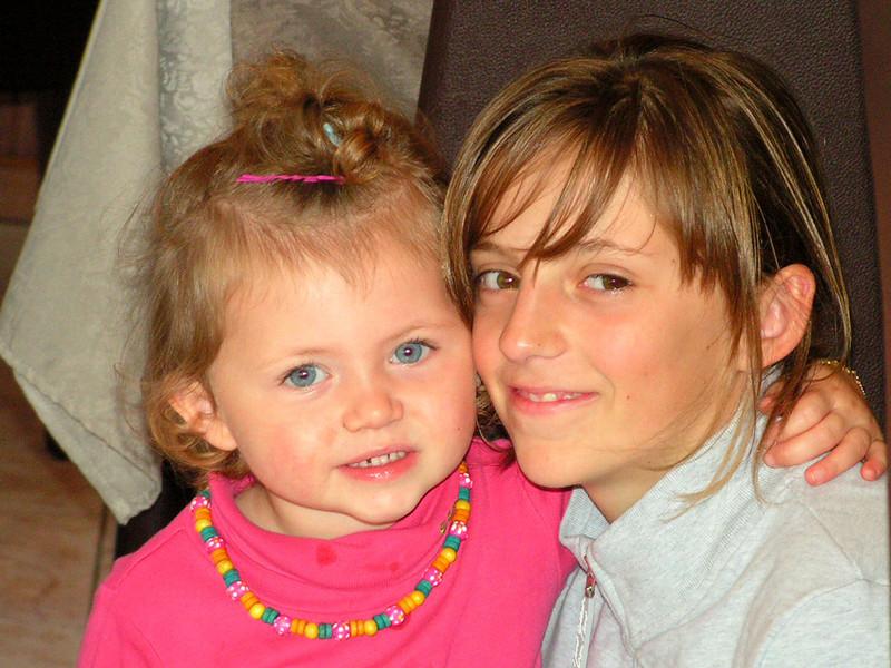 """""""Eyuna""""<br /> Met Sharon, dochter van Betsy's zus, Patsy!"""