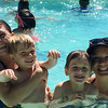 Awesome picture of swimming with Elizabeth & the kids. I
