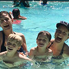 Awesome picture of swimming with Elizabeth & the kids. II