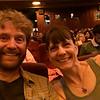 Dan & I at the Grand Lake Theater ready to see Wonder Woman!