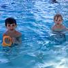 At swim lessons at Piedmont Pool.
