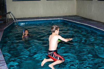 Kids Night Swimming