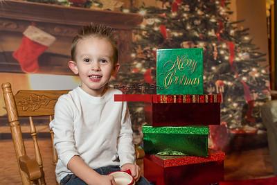 Christmas Tree w-Fireplace