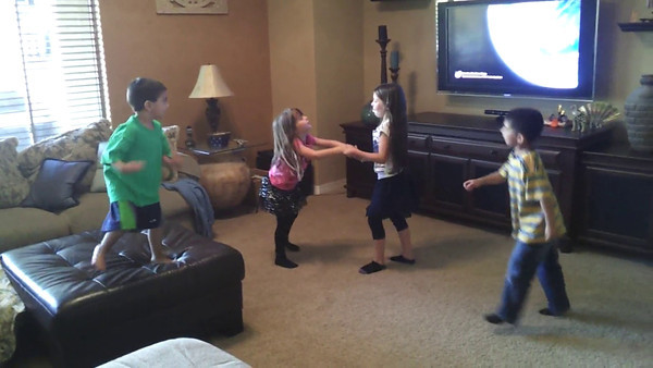 Kids having fun dancing!!!