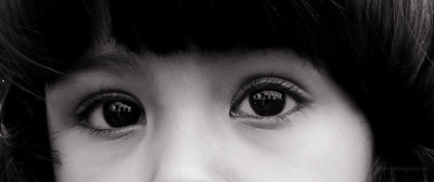 Diya's eyes-selective portrait