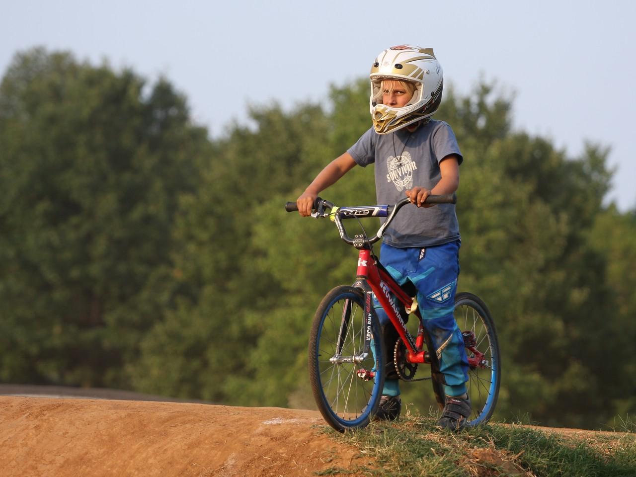 BMX Bike Racing at Tom Sawyer