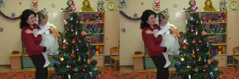 2010-12-29, Olya's New Year Party at Sad 1501 (3D LR)