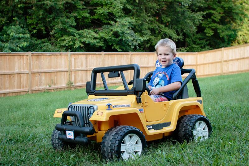 Jeepin' in the Backyard