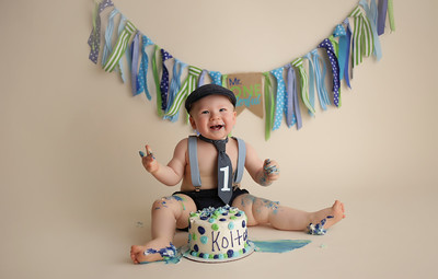 Kolton is ONE!