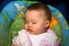 Asleep in the swing...