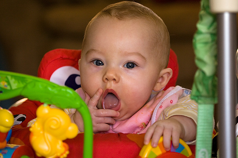 "Can you say ""teething""?"